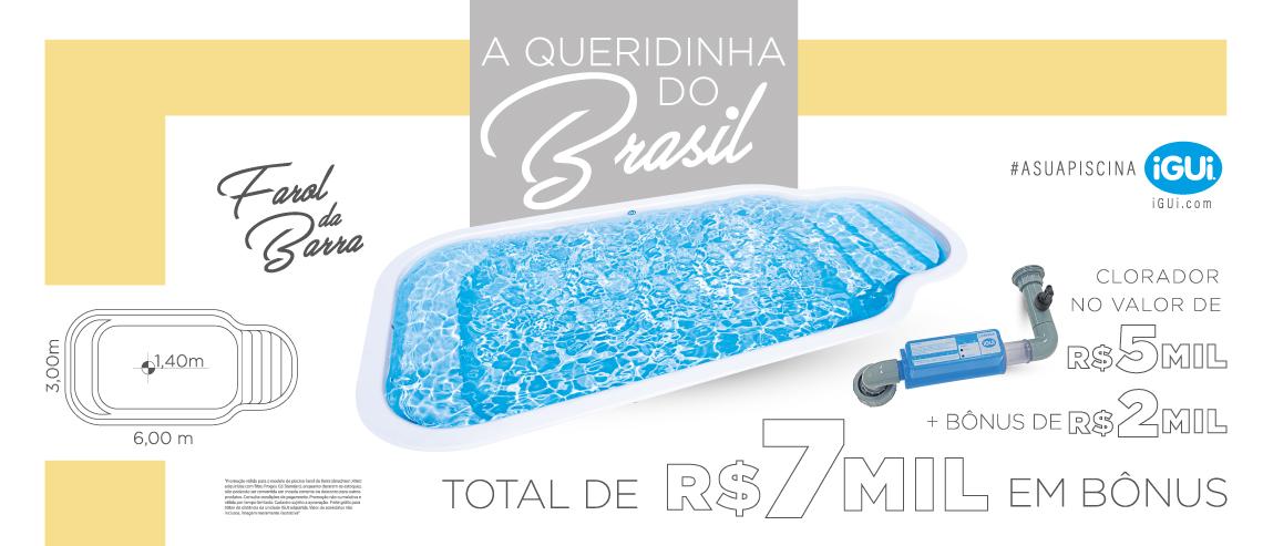 Promoção Farol da Barra com Clorador - Total BONUS de 7 mil- Aproveite é por tempo limitado!