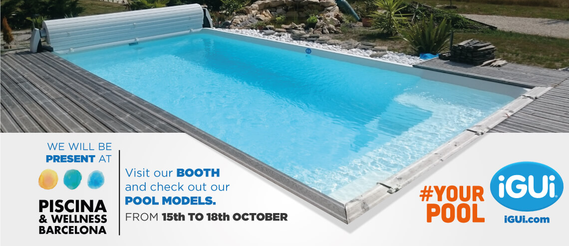 Visit our booth at Piscina & Wellness - Barcelona 2019