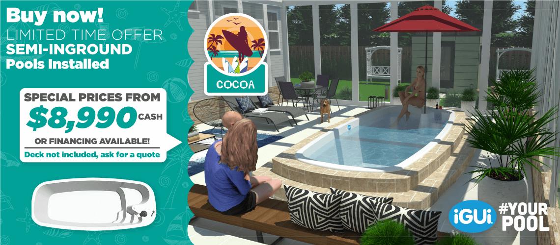 Pool iGUi Cocoa