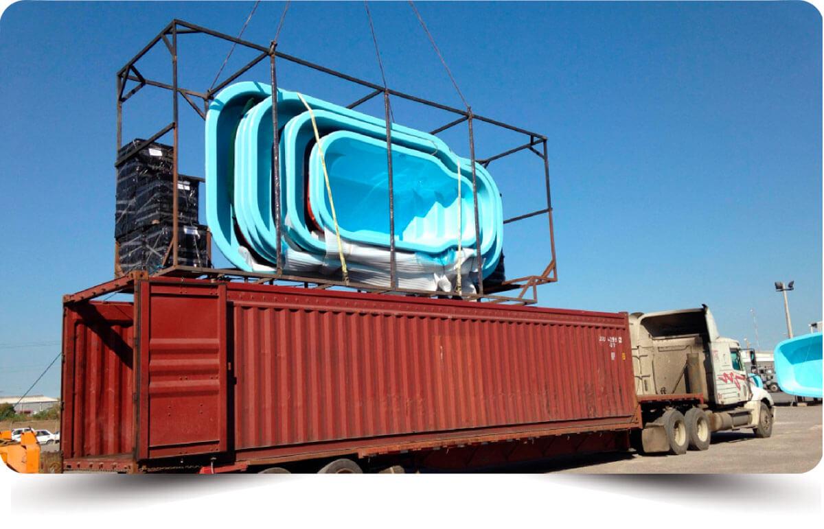 swimming pools cargo