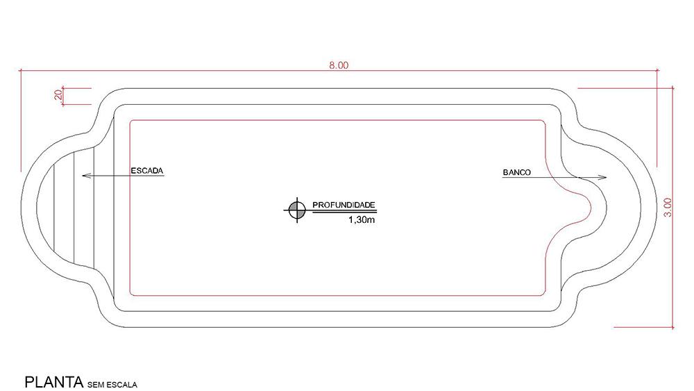 Desenho técnico Arraial do Cabo (sem escala)
