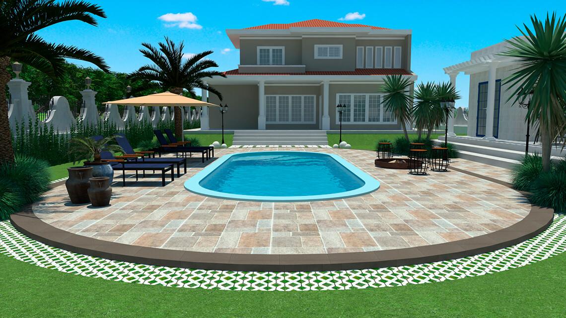 Pool Aruba large