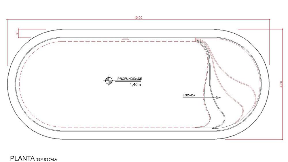 Desenho técnico Aruba (sem escala)