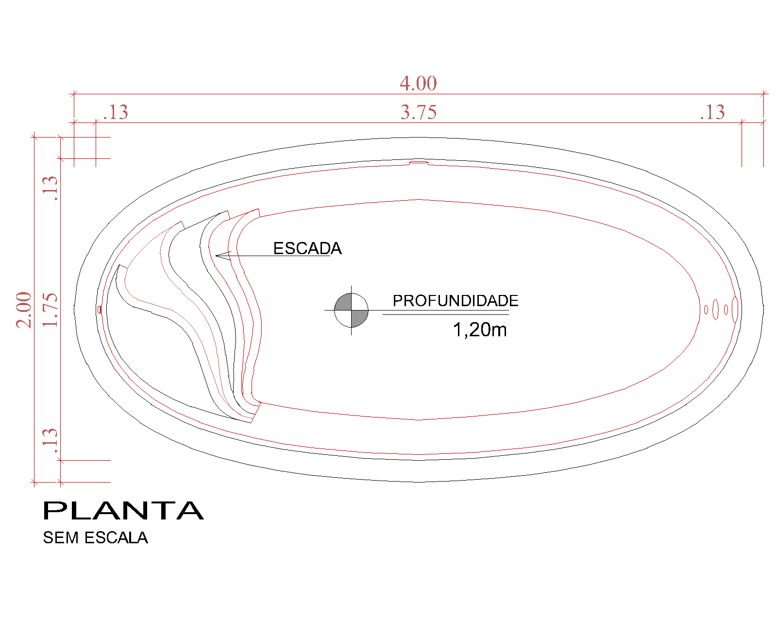 Desenho técnico Atenas (sem escala)