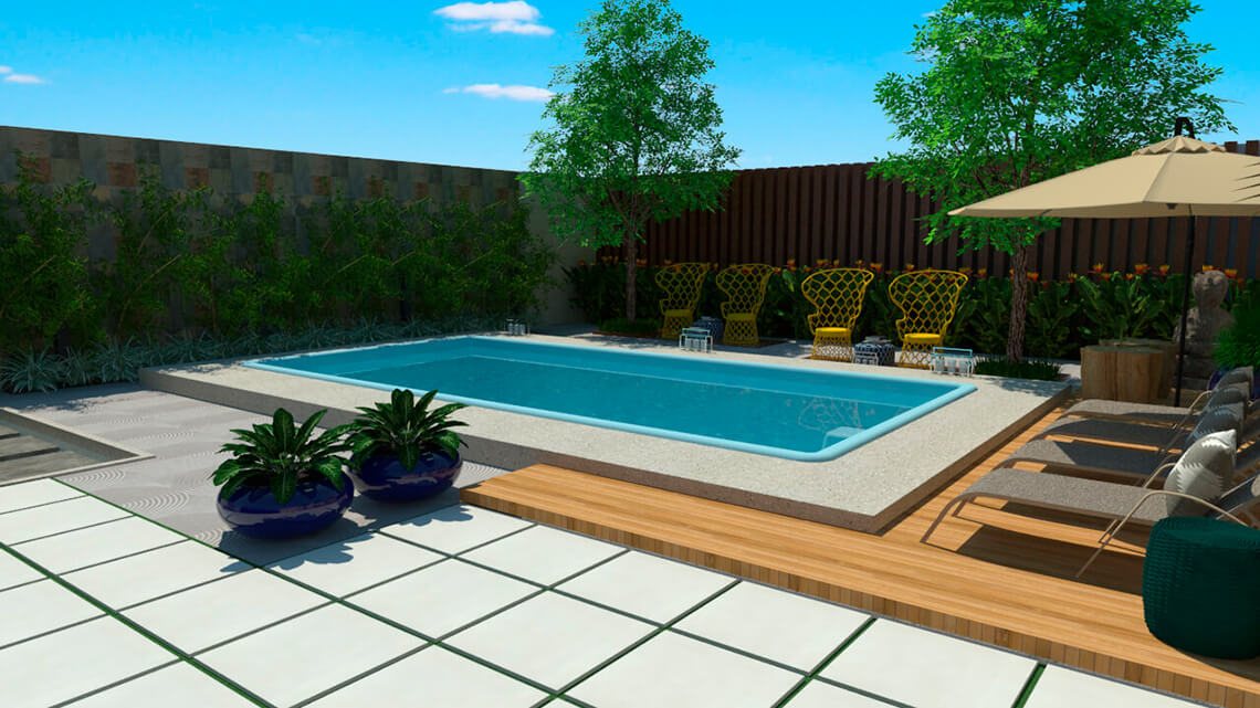 Pool Biarritz