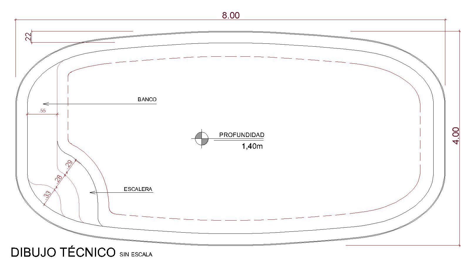 Dibujos técnicos Bríndice (sin escala)