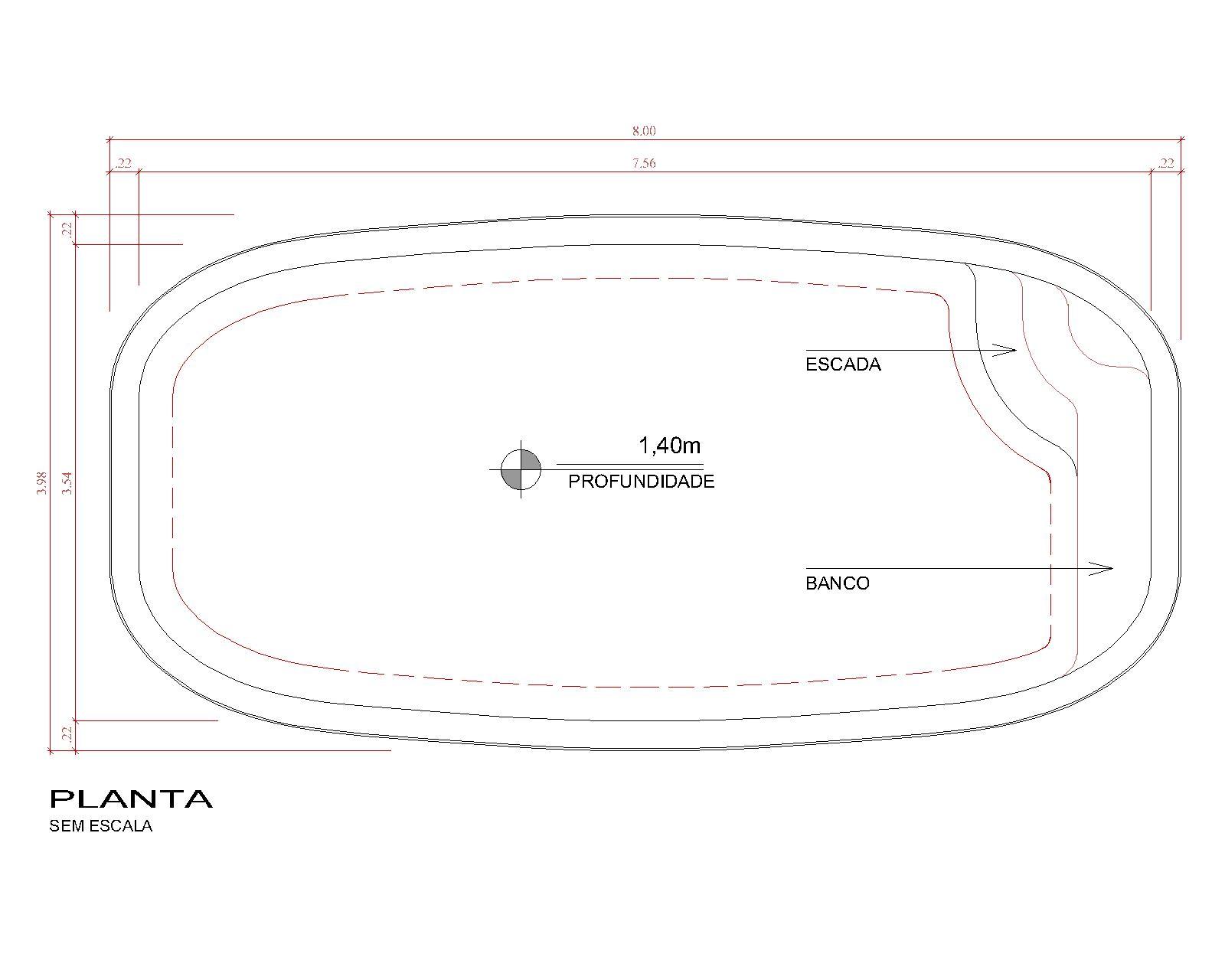Desenho técnico Bríndice (sem escala)