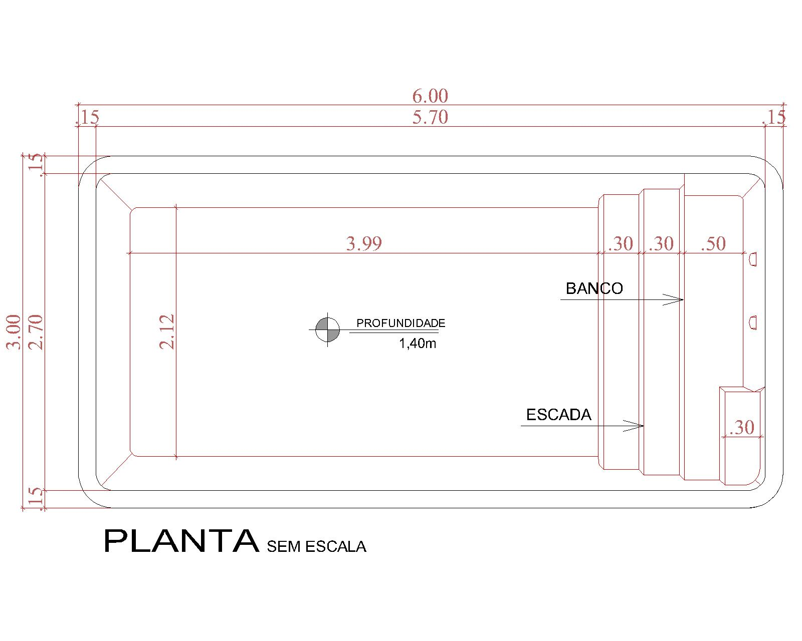 Technical drawing Cancún (no scale)