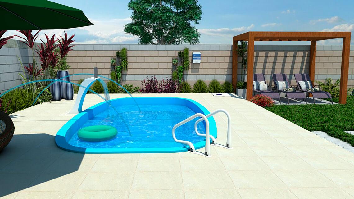 Pool Florenza medium