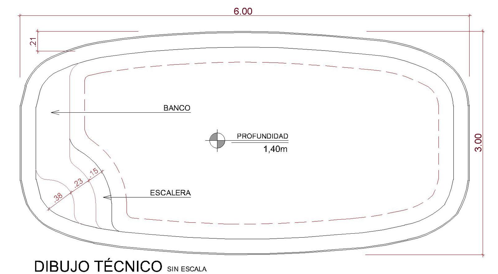 Dibujos técnicos Florenza (sin escala)