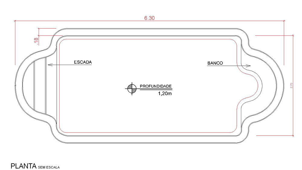 Technical drawing Guarapari (no scale)