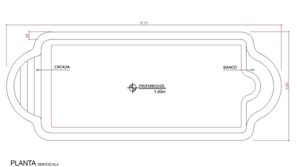 Desenho técnico Itapema (sem escala)