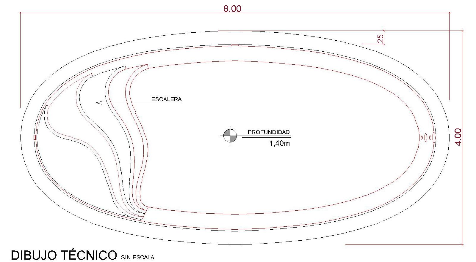 Dibujos técnicos Komôdo (sin escala)