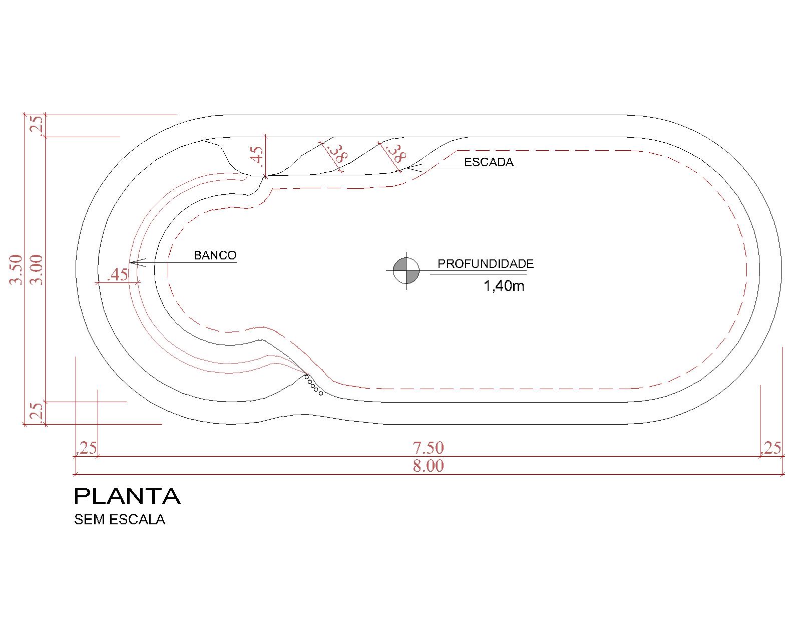 Desenho técnico Maresias (sem escala)