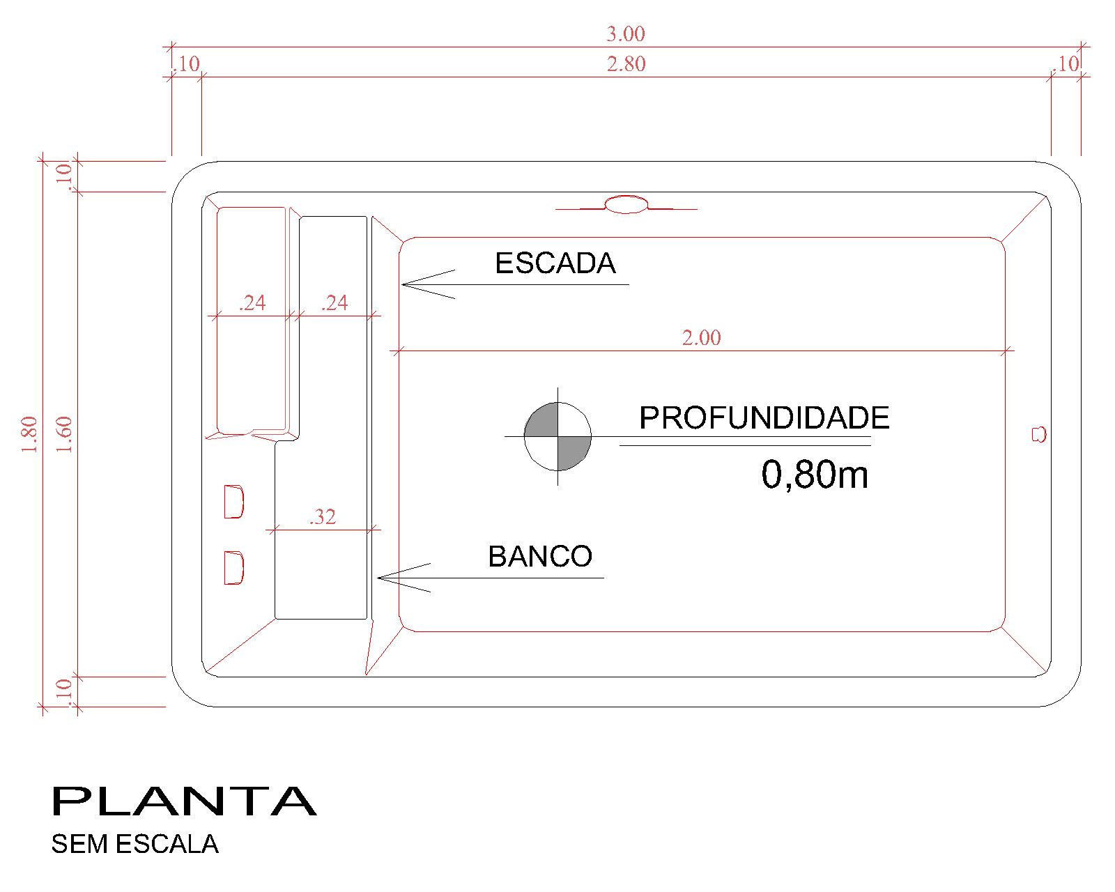 Technical drawing Naama (no scale)