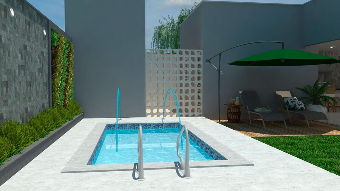 piscina Panamá area lazer