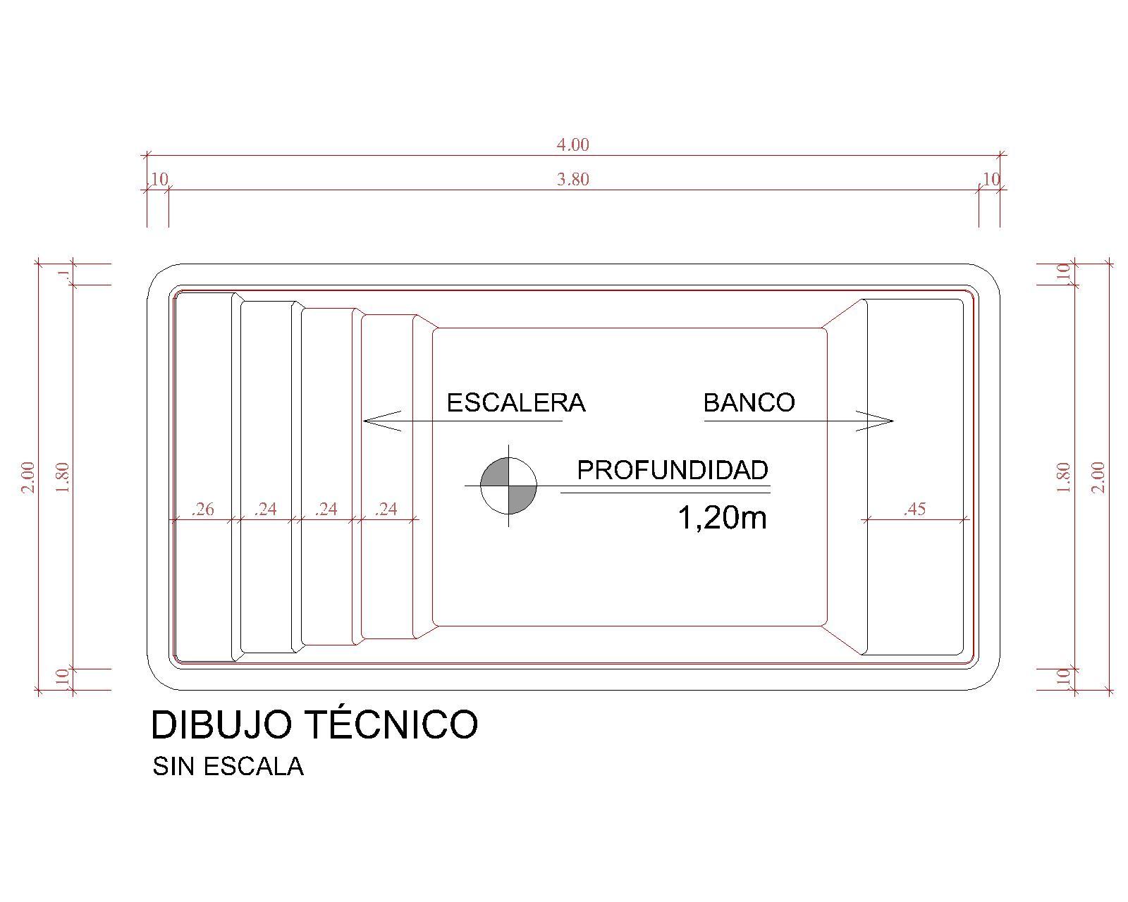 Dibujos técnicos Panamá (sin escala)