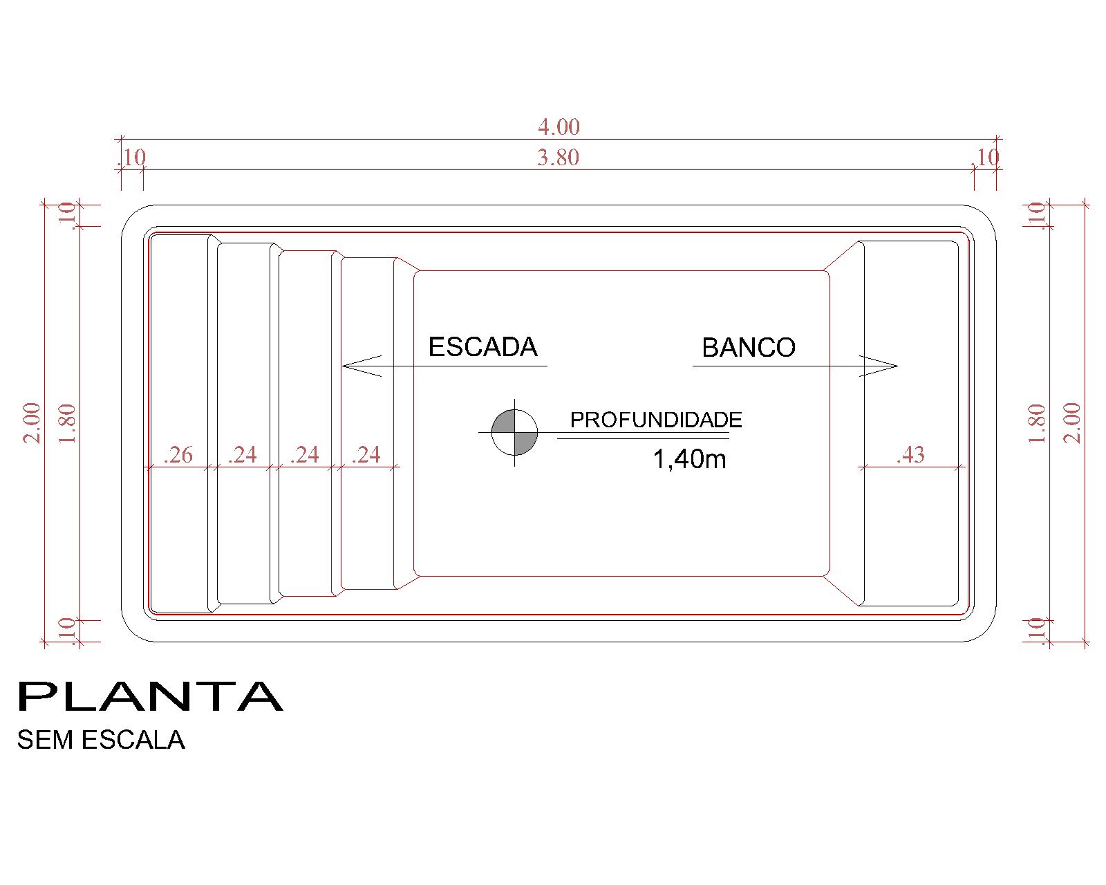 Desenho técnico Panamá (sem escala)