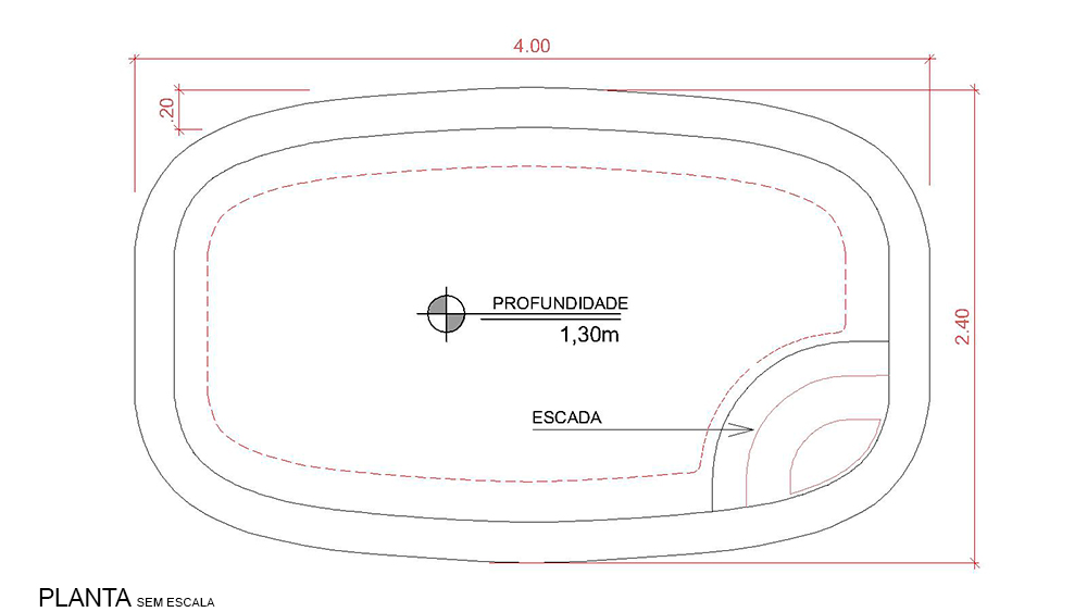 Technical drawing Pescara (no scale)