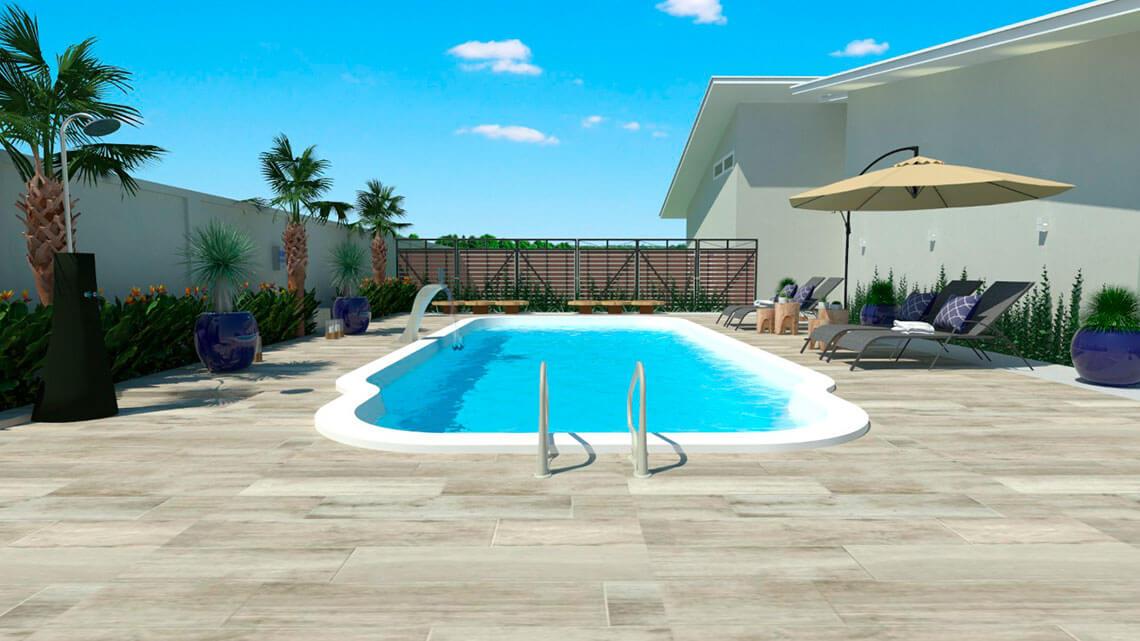 piscina praia brava grande branca azul area lazer