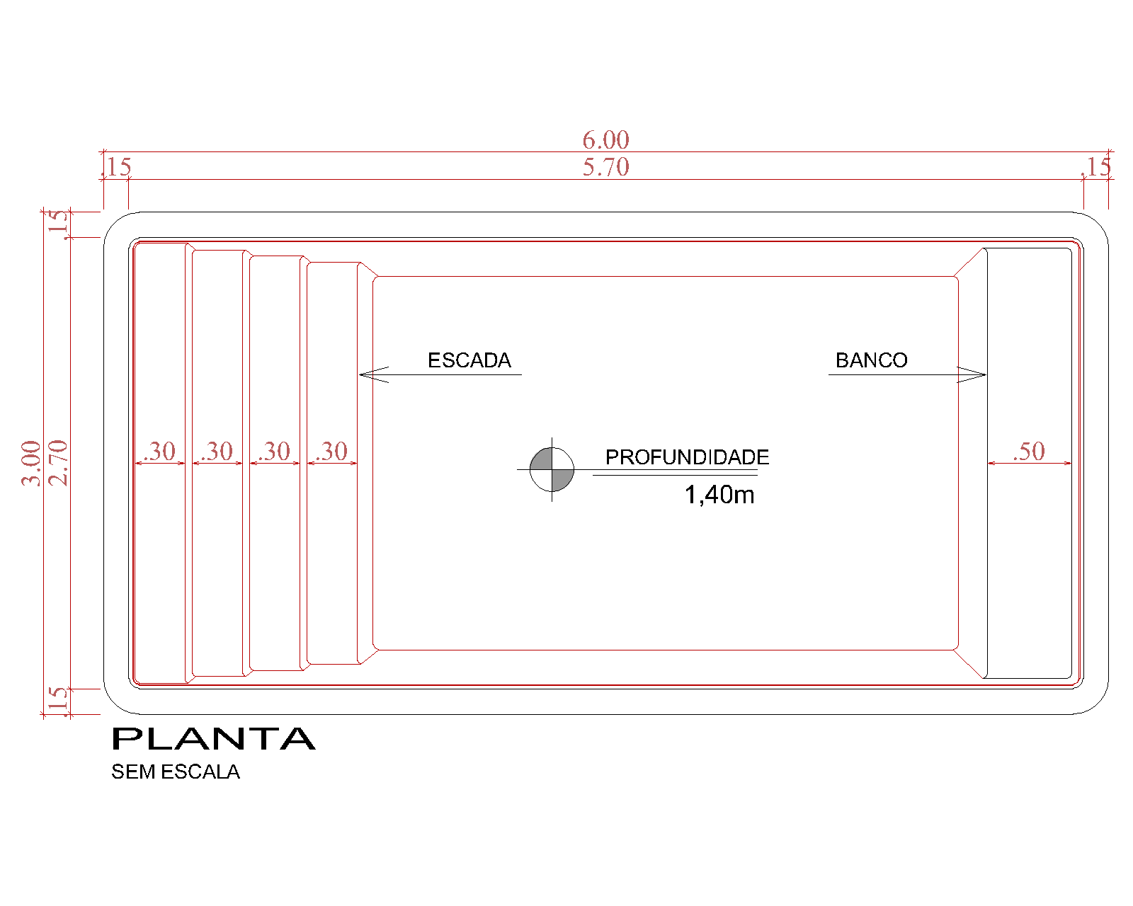 Desenho técnico Tobago (sem escala)