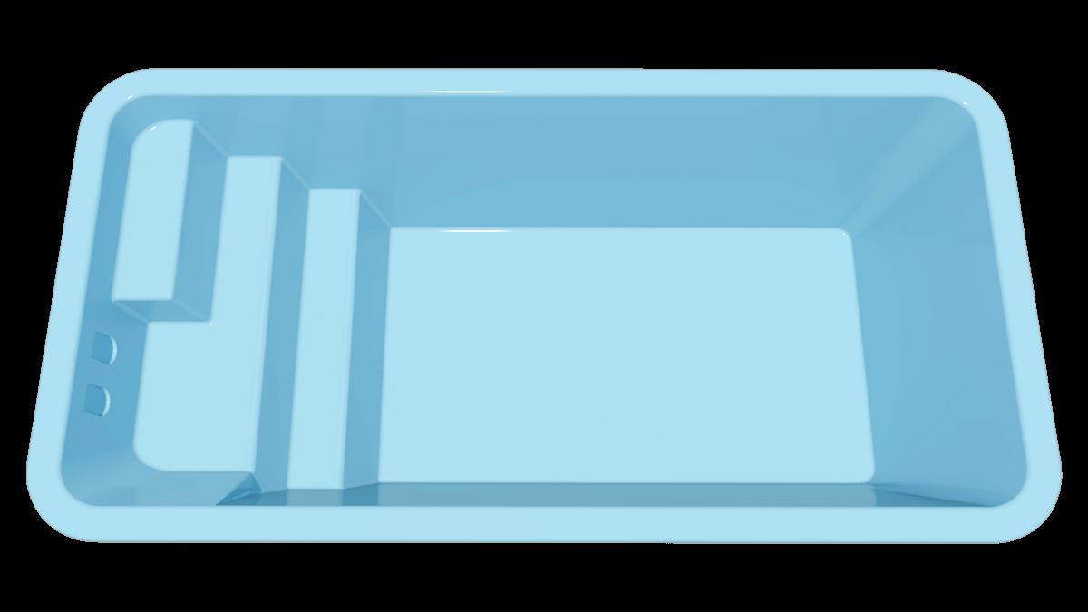 Piscina Compacta Tulum 4x2 Igui A Sua Piscina