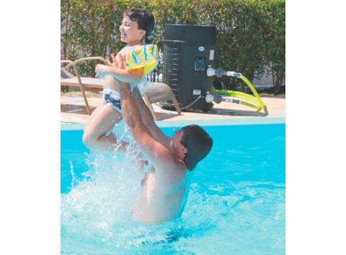 Thermas Kelvin trocador calor bomba aquecimento lazer familia piscina aquecida economia feliz familia
