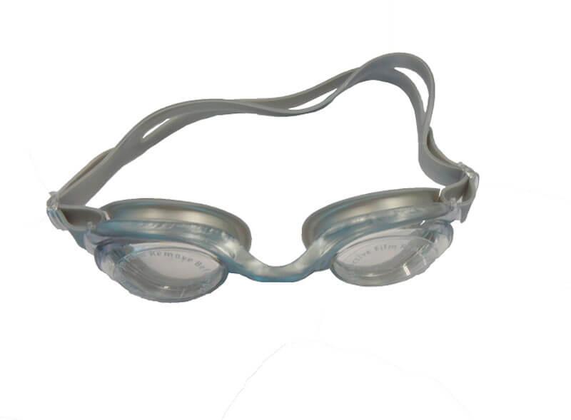 óculos para natação cinza