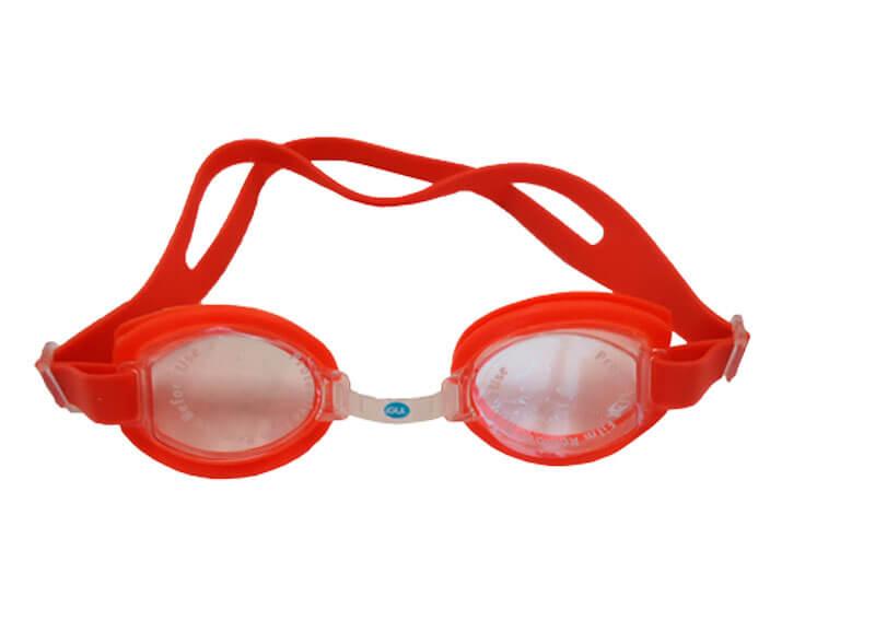 óculos para natação laranja
