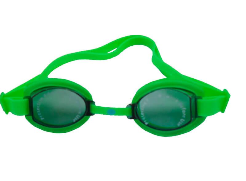 óculos para natação verde