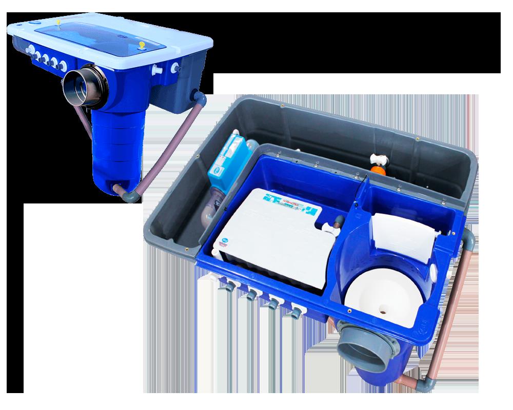 Eletronic System filtro piscina tecnologia smartphone tablet filtragem cascata hidroterapia automação sistema celular equipamento