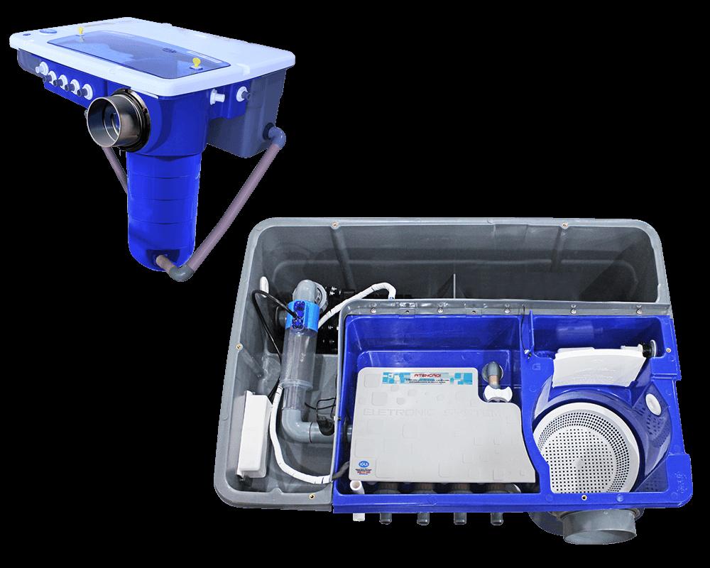 Eletronic System filtro piscina tecnologia smartphone tablet filtragem cascata hidroterapia automação sistema celularequipamento