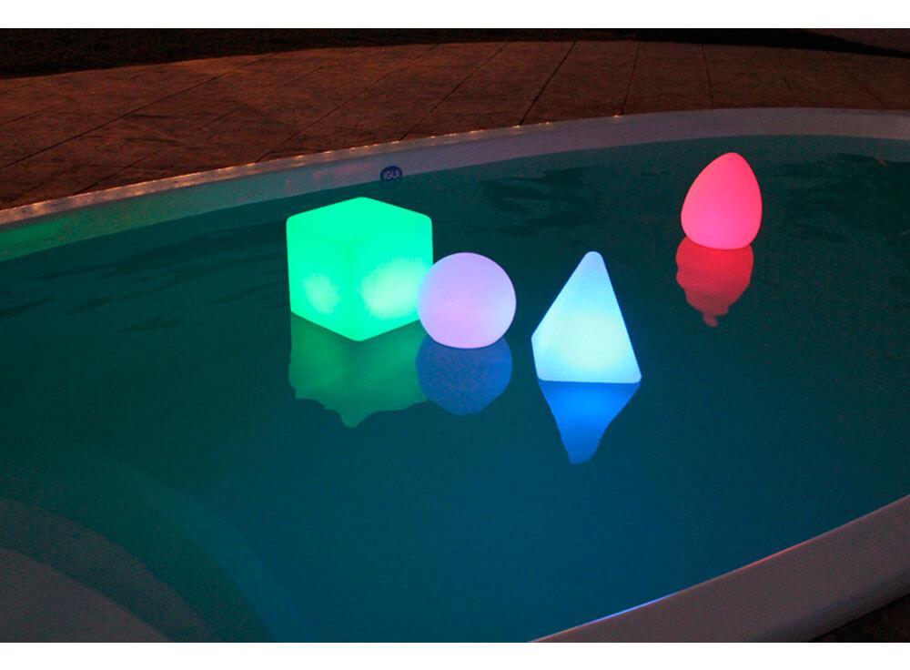 iGUiLux Abajur decoração iluminação piscinas jardins iluminação led subaquatica