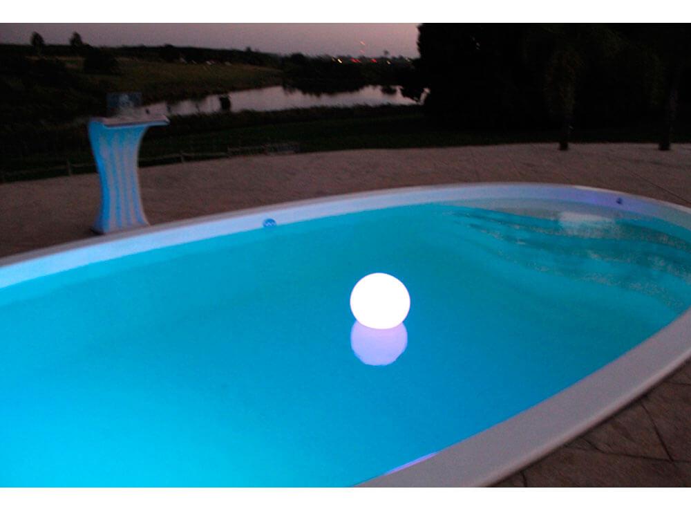 iGUiLux Abajur decoração iluminação piscinas jardins iluminação led subaquatica esfera