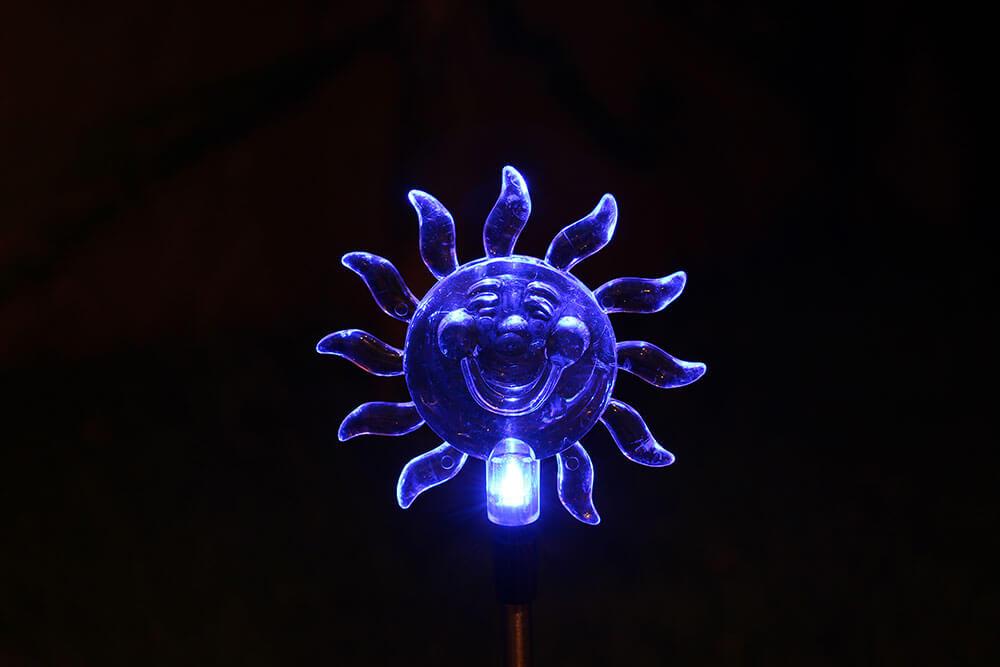 iGUiLux Fantasia iluminação jardim lazer magia beleza decoração fiji branca abajur led