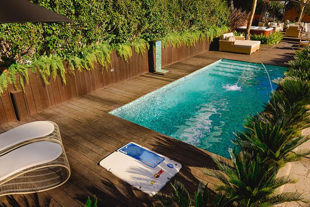 iGUiLux Jet Color jato colorido iluminação led piscina jardis lazer luminoso pastilhada azul miscelania