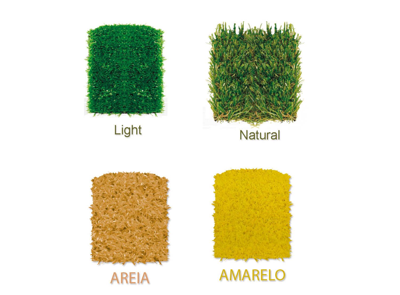 Forração Pratic grama artificial natural light amarela areia