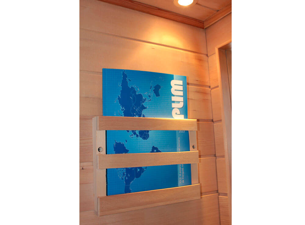 Sauna Seca Canadá relaxante madeira canadense saude beneficios lazer porta revista toalha