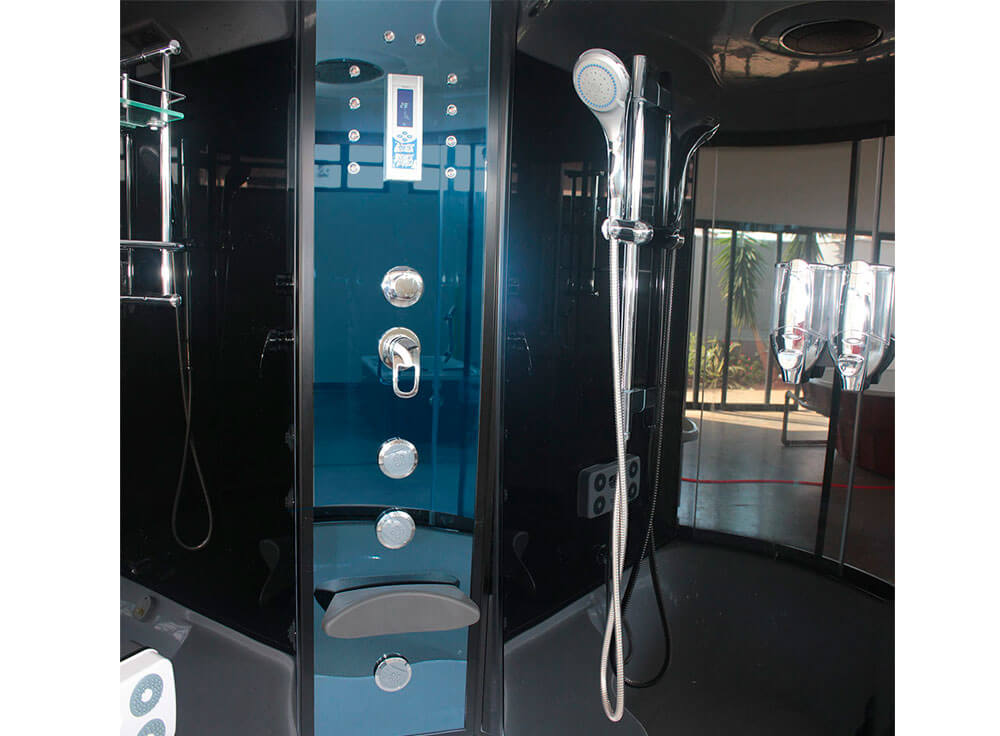 Sauna Vapor Club saude beleza relaxamento foto detalhe ducha