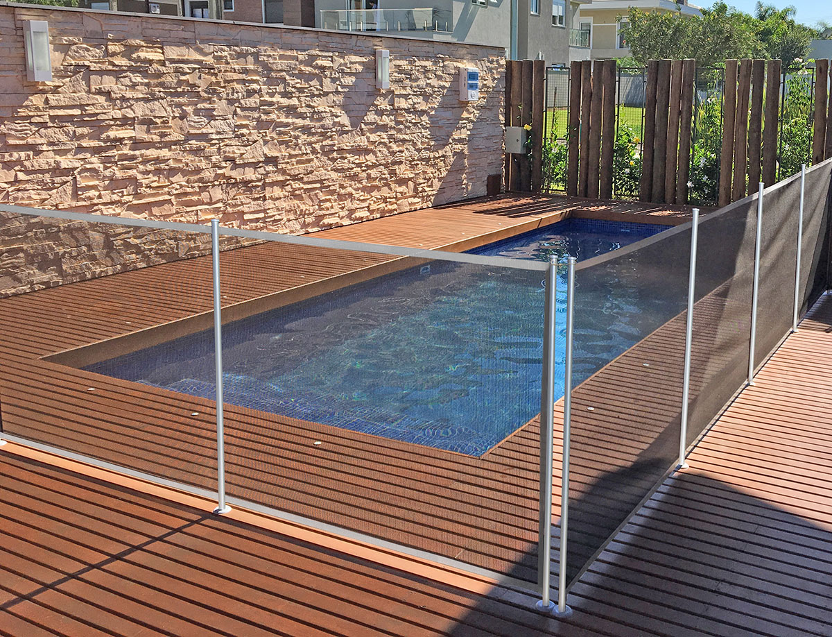 Cerco Max removivel segurança criança pets cercamento piscina