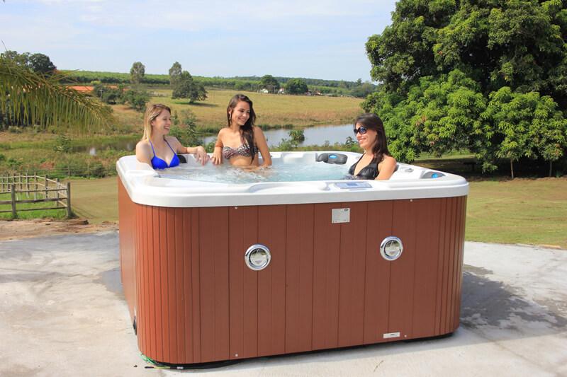 SPA Luxo com cinco lugares com aquecimento