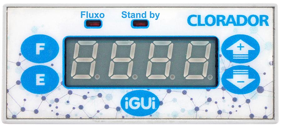 Display Comando Clorador iGUi