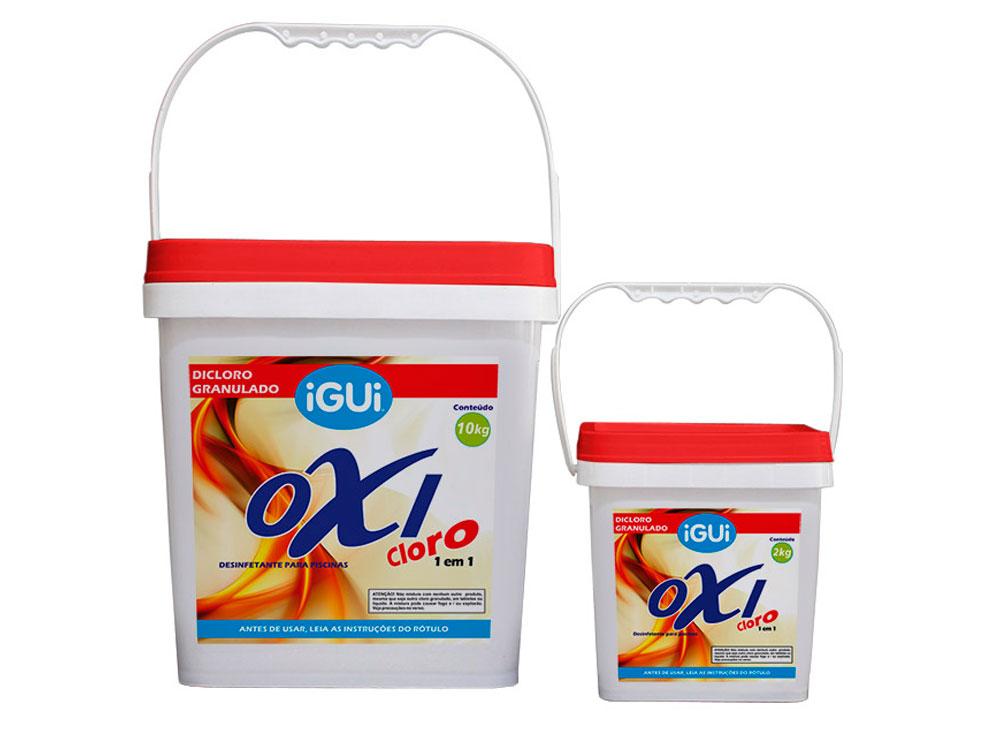Oxi Cloro Dicloro granulado puro, com 60% de cloro ativo