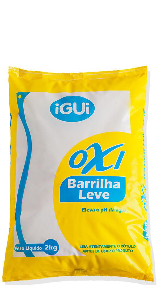 Oxi Barrilha Leve controle pH regulado