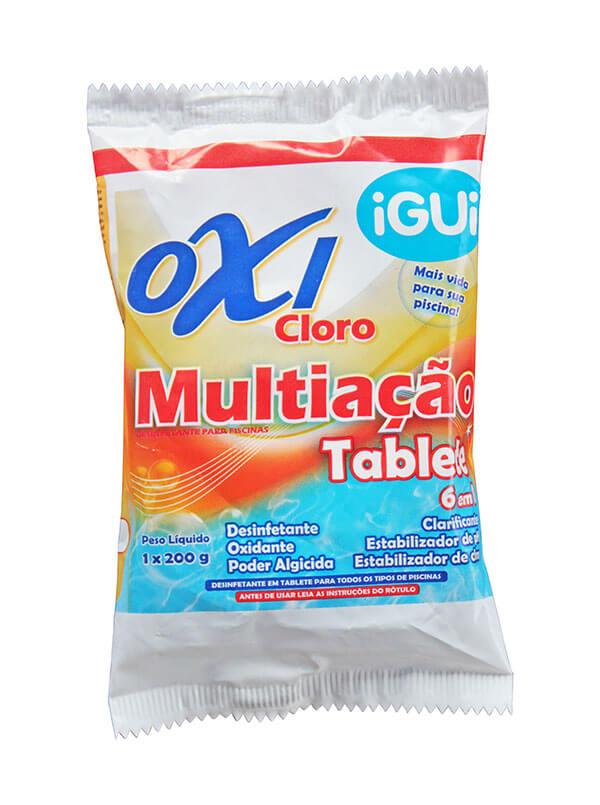 Oxi Cloro Multiação tratamento piscina tablete