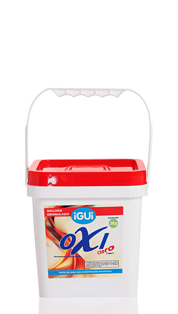 Oxi Cloro Dicloro 2Kg granulado puro, com 60% de cloro ativo