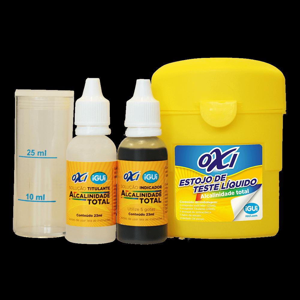 Oxi Estojo de Teste  Líquido de Alcalinidade Total