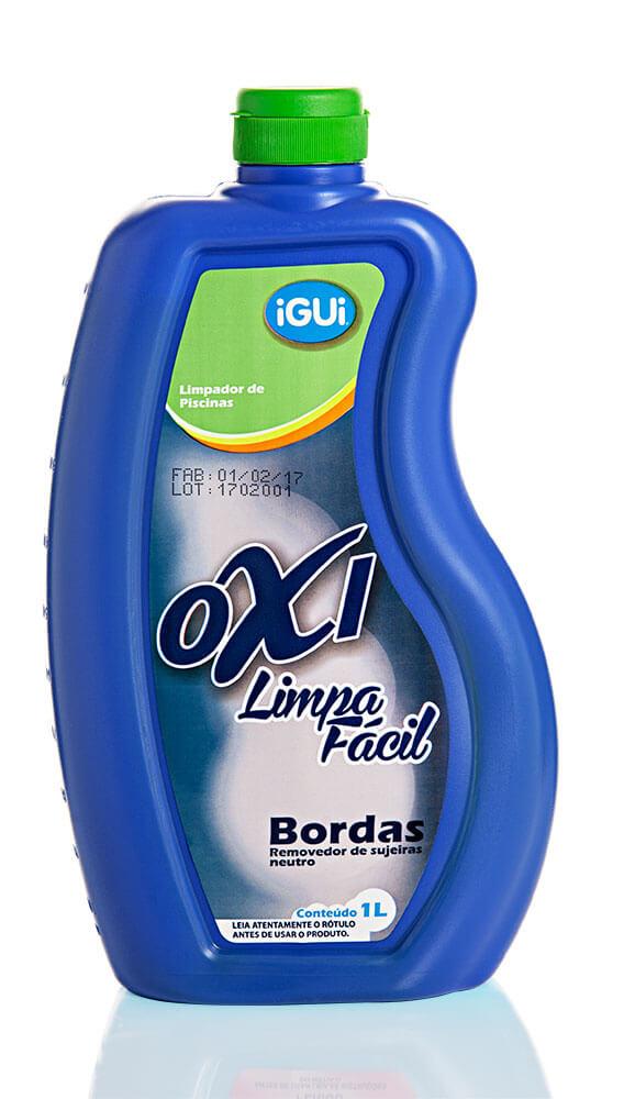 Oxi Limpa Fácil Bordas Remove sujeiras gordura água piscina