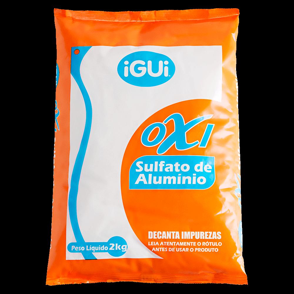 Oxi Sulfato de Alumínio decantador água piscina impurezas