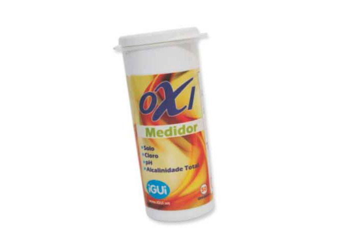 Oxi Medidor análise água piscina ph cloro solo alcalinidade